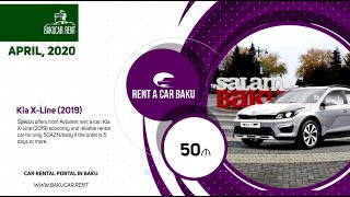 April TOP10 deals from local Rent a car Baku companies