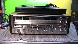DEMO OF VINTAGE PIONEER SX-980 RECEIVER FOR SALE