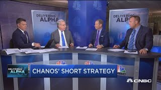 Top short seller Chanos' strategy for shorting stocks