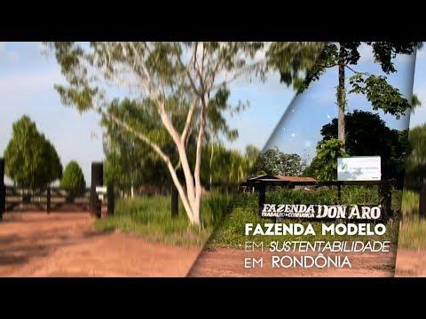 Fazenda modelo em sustentabilidade em Rondônia