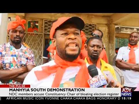 Manhyia South Demonstration - The Pulse on JoyNews (15-5-18)