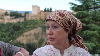 Muslim Women in Granada, Spain