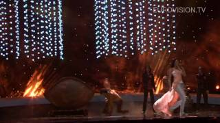 Eva Riva's second rehearsal (impression) at the 2010 Eurovision Song Contest