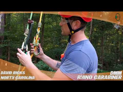 DMM Rhino Carabiner – TreeStuff Customer David Ricks' Review In The Field