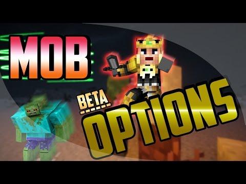 Enemigos Super Chetados ... !! [Mob Options Minecraft Mod][1.7.10][BETA]
