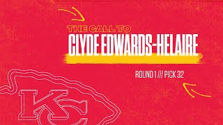 """The Call"" to Clyde Edwards-Helaire"