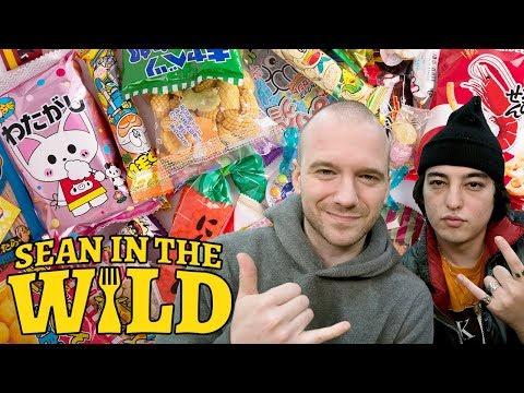 Joji and Sean Evans Review Japanese Snacks | Sean in the Wild