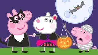 Świnka Peppa 🎃 Halloweenowe przebieranki 🎃 Bajki Po Polsku | Peppa po Polsku