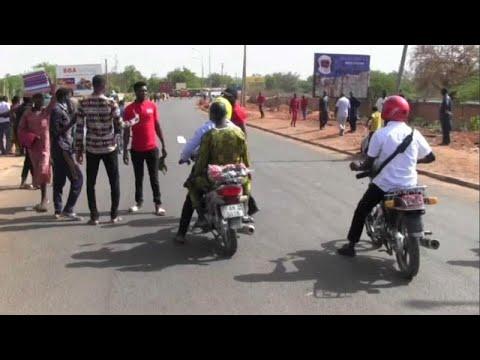 Des étudiants nigériens protestent pour de meilleures conditions Des étudiants nigériens protestent pour de meilleures conditions