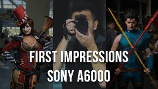 Sony A6000 - Initial Review (2017)