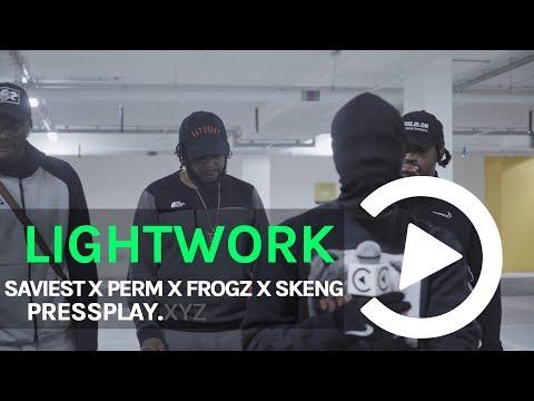#CT Saviest X Perm X Frogz X Skeng - Lightwork Freestyle | Pressplay