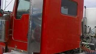 "LOOK!!  A converted SLEEPER to DAY CAB... conversion of a Kenworth 72"" AeroCab Sleeper truck"
