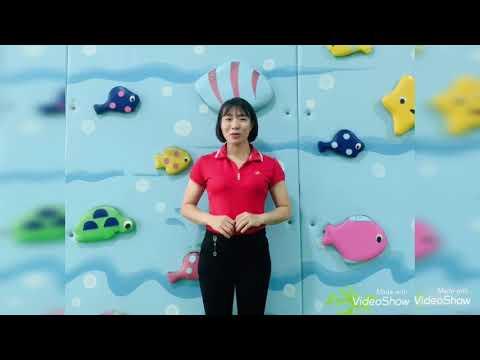 Bước lên xuống bục cao - Giáo viên Nguyễn Thuỳ Linh