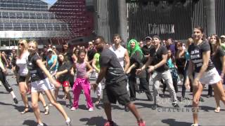 World's Largest Simultaneous Flashmob feat. Alfonso Ribeiro | ViSalus Flash Mob - Hollywood CA