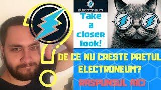DE CE NU CRESTE PRETUL ELECTRONEUM? COINBASE-VOLATILITATE-BITCOIN