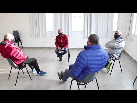 Reunión con referentes del básquet local y nacional