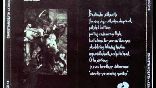 The dazing waltz-Christian death