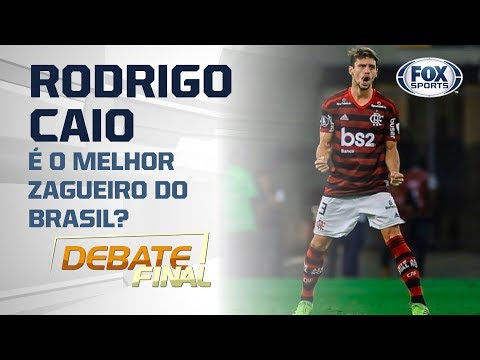 RODRIGO CAIO É O MELHOR ZAGUEIRO DO BRASIL? Veja a discussão do 'Debate Final'