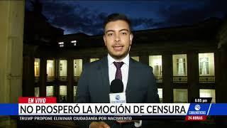 Cámara Hundió Debate De Moción De Censura Contra El Ministro Carrasquilla