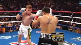 Saul Alvarez vs Carlos Baldomir