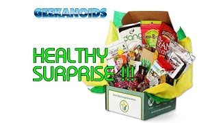Healthy Surprise- A health snacks subscription site