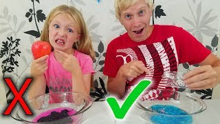 Don't Choose the Wrong Lunchbox Slime Switch Up Challenge!!!