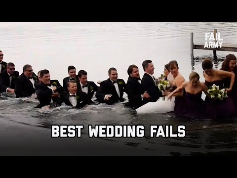 A Funny Compilation of Wedding Fails