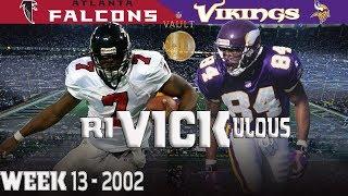 A riVICKulous Ending (Falcons vs. Vikings, 2002) | NFL Vault Highlights