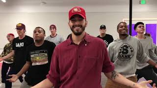 Daddy Yankee & Snow   Con Calma Official video Rehearsal Greg Chapkis Choreography