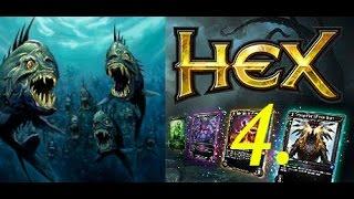 HEX: Shards of Fate. Как одолеть пираний? Кампания, эпизод 4.