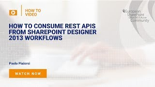 How to Consume the REST APIs from SharePoint Designer 2013 Workflows