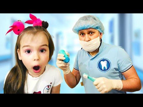 София и папа - история о том как София не хочет лечить зубы
