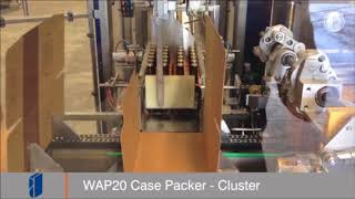 Fibre King WAP20 Casepacker - Cluster Packs of Beer Bottles