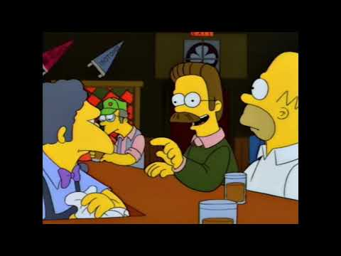 The Simpsons - Moe's is closed on Wednesdays