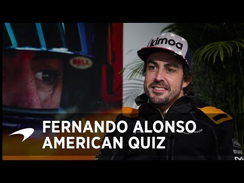The Big American Quiz | Fernando Alonso