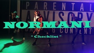 Normani X Calvin Harris   Checklist Ft. WizKid | @baminassi Choreography