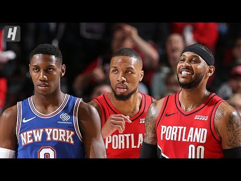 New York Knicks vs Portland Trail Blazers - Full  Highlights | Dec 10, 2019 | 2019-20 NBA Season