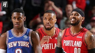 New York Knicks vs Portland Trail Blazers - Full  Highlights | Dec 10, 2019 | 2019-20 NBA Season