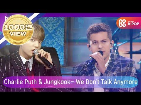[2018 MGA] 찰리 푸스(Charlie Puth) X 방탄소년단 정국(Jungkook Of BTS) - We Don't Talk Anymore