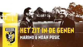 Het zit in de genen: Marino & Noah Pusic