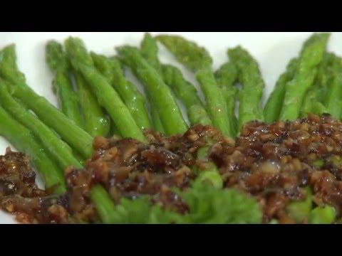 124. Măng tay sauce nấm