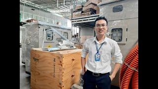 Đại Phong giao hàng dự án (Recloser Schneider 27kV + Tủ ACB Solar + Tủ Tụ Bù 3 Pha 2 Ngăn & Tủ ACB)