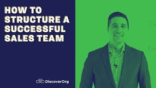 How to Structure a Successful Sales Team