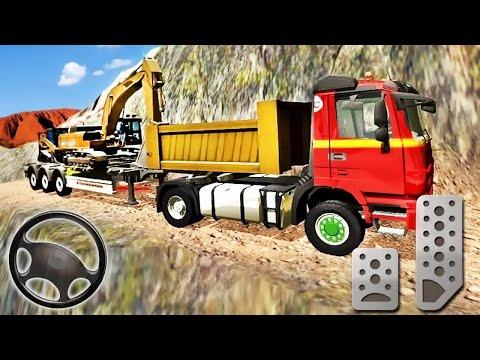 Sand Excavator Truck | Driving Rescue Simulator |