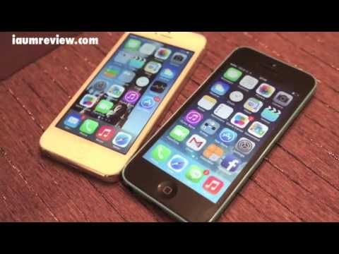 [HD] รีวิว iPhone5C แบบไทยไทย :EP1: Unboxing แกะกล่องน้องฟ้าโดเรม่อน