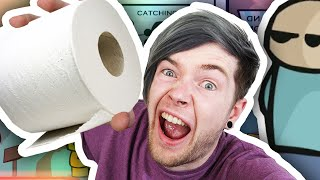 TOILET PAPER TROUBLE!! | Riddle School 2