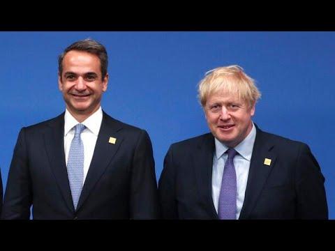 Τηλεφωνική επικοινωνία Μητσοτάκη – Τζόνσον για Κυπριακό και Brexit …