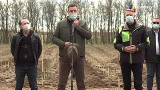 Ministrul Mediului: Am vrut să începem împădurirea României prin fondurile PNRR din zona Olteniei