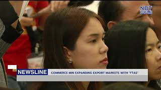"""Commerce Min expanding export markets with """"FTAs"""""""