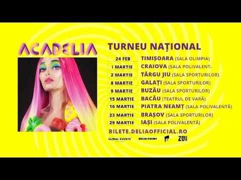 Delia – Turneu national Video